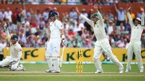 Australia dismiss Joe Root