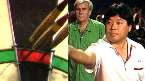 Paul Lim's 9-darter, BDO World Darts Championship 1990