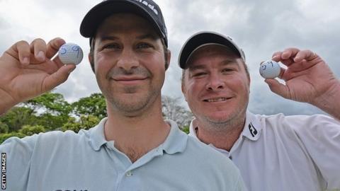 Jorge Campillo (left) and Colin Nel