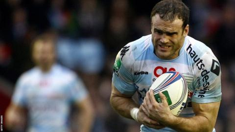 Wales centre Jamie Roberts makes his comeback after a three-month injury absence in Racing Metro's 17-3 Heineken Cup defeat at Harlequins.