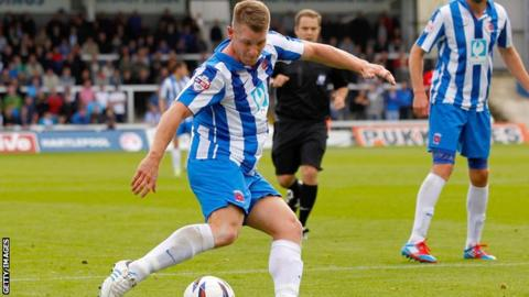 Hartlepool forward Jonathan Franks
