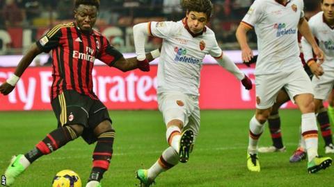AC Milan v Roma