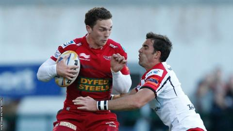 Scarlets reached the Pro12 play-offs but lost to Ulster at Ravenhill in the semi-final. It was George North's final game for the Welsh region before his departure to Northampton.