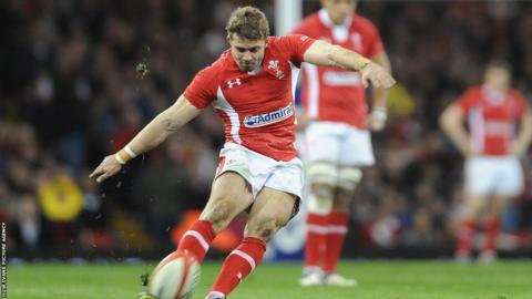 Wales full-back Leigh Halfpenny was voted Six Nations player of the tournament.