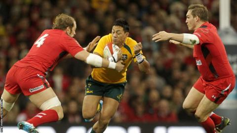 Wales beat Argentina and Tonga but lost to South Africa and Australia (pictured) during the autumn series in Cardiff.