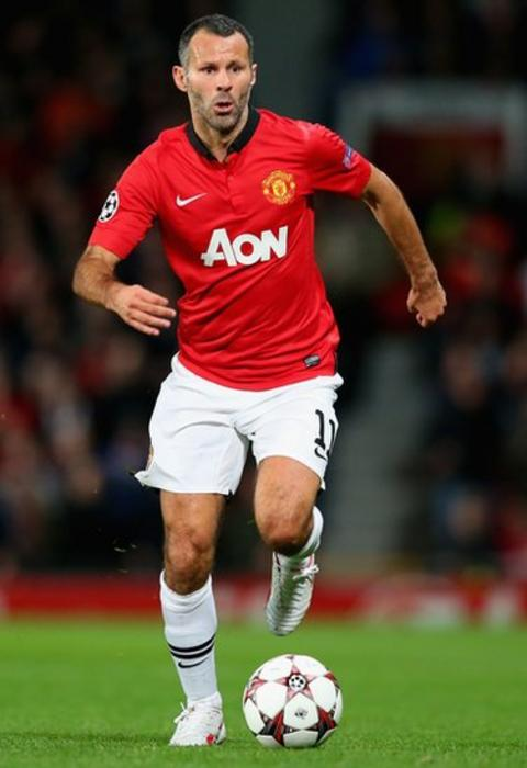 Manchester United's former Wales captain Ryan Giggs celebrated his 40th birthday in November.
