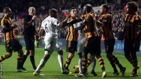 Swansea 1-1 Hull