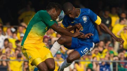 Brazil v South Africa in September, 2012