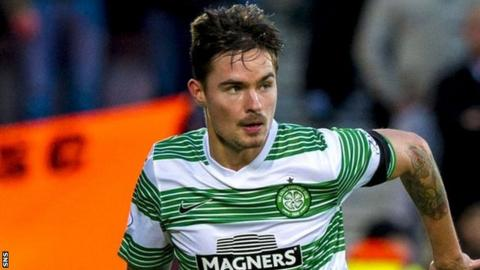 Celtic defender Mikael Lustig