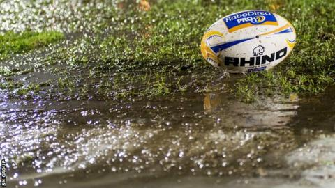 Glasgow v Treviso has been postponed