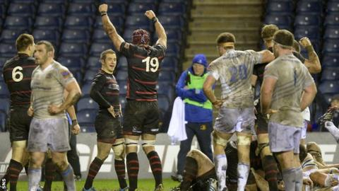 Edinburgh move up to sixth in the Pro12 with an 11-6 win over Leinster