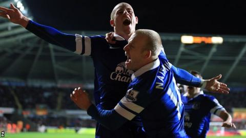 Ross Barkley celebrates