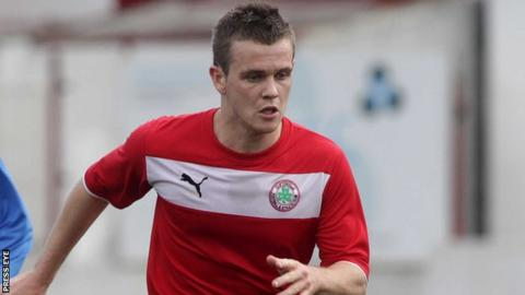 Cliftonville defender Jaimie McGovern