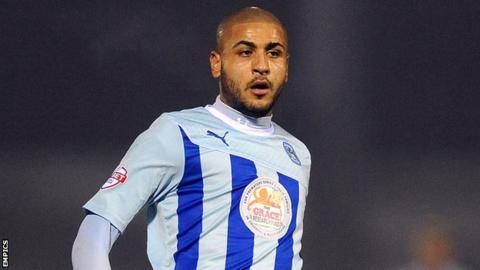 Coventry City striker Leon Clarke