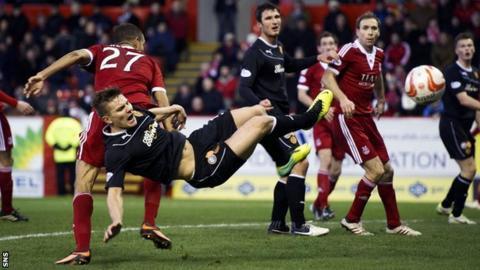 Aberdeen 0-1 Motherwell