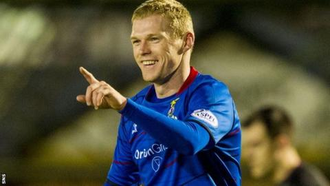 Inverness striker Billy McKay