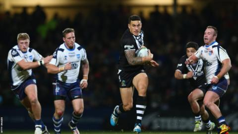 Scotland's best ever Rugby League World Cup display ended with a heavy defeat to New Zealand