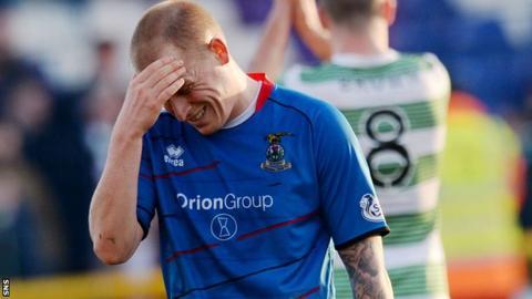 Inverness defender Carl Tremarco