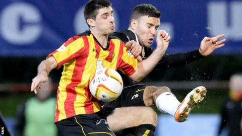Partick Thistle lost 5-1 at home to Motherwell
