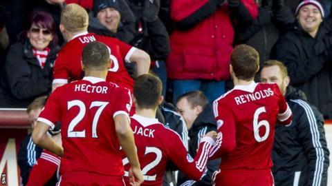 Aberdeen's Nicky Low