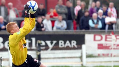 Goalkeeper Eugene Ferry has joined Coleraine