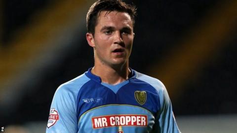 Burton Albion midfielder Jack Dyer