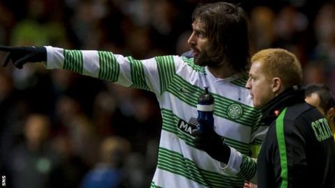 Georgios Samaras and Neil Lennon