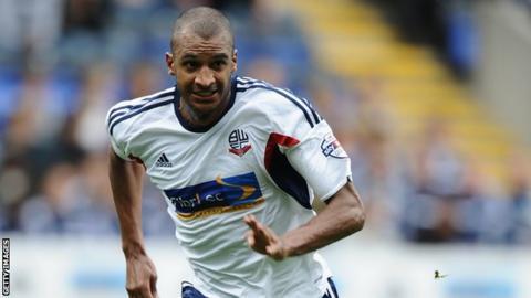 Bolton striker David Ngog