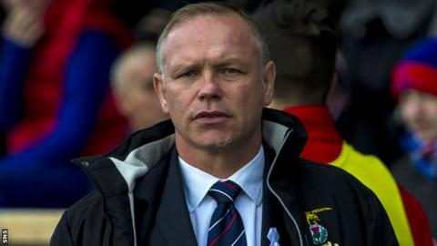 Inverness Caledonian Thistle boss John Hughes