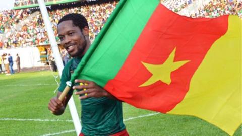 Cameroon forward Jean Makoun