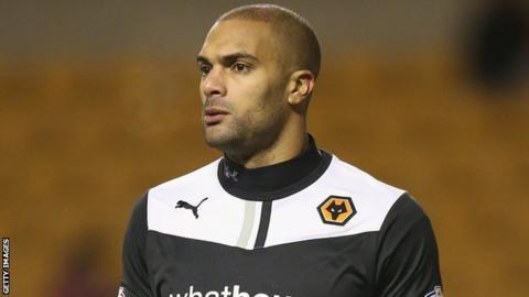 Wolves keeper Carl Ikeme