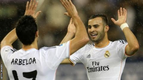 Jese scores for Real Madrid
