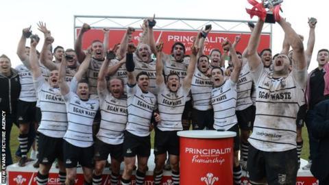 Pontypridd win Welsh Premiership