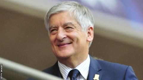 Former Football Association chairman David Bernstein