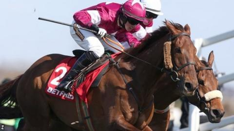 Bryan Cooper winning on First Lieutenant at Aintree in April