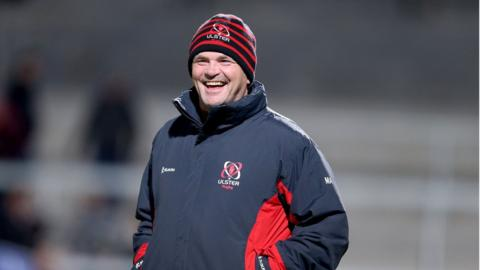 Ulster coach Mark Anscombe was smiling again as his squad improved on their disappointing display against Leinster