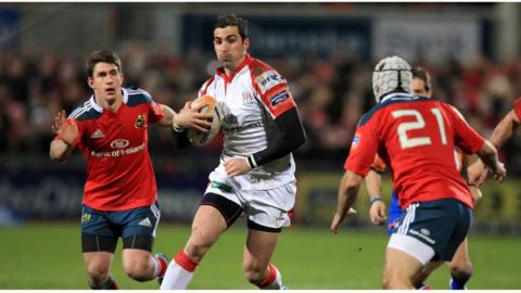 Springbok Ruan Pienaar kicked 19 points for Ulster and was named man of the match