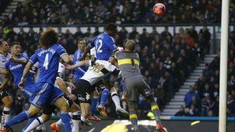 John Mikel Obi gives Chelsea the lead