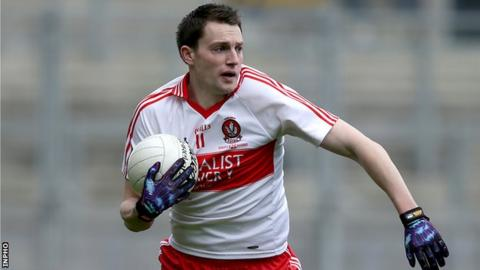 James Kielt scored one of Derry's goals