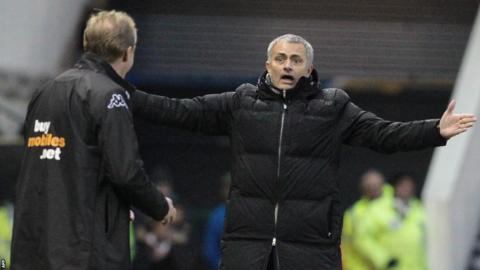Chelsea boss Jose Mourinho enjoyed his return to the FA Cup after six years away, with a 2-0 win at Championship Derby.