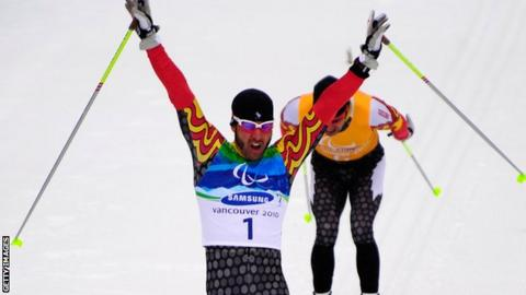 Canadian skier Brian McKeever