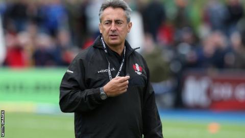 Gloucester coach Nigel Davies