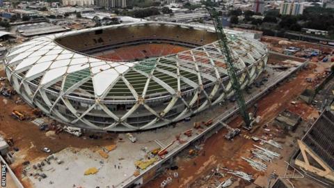 Arena Amazonia in Manaus, Brazil