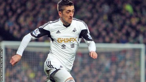 Swansea City's Pablo Hernandez