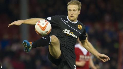 Motherwell striker Henri Anier