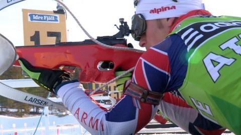 British biathlete