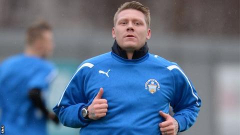 Morton striker Garry O'Connor