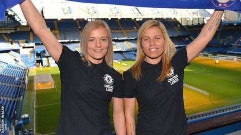 Katie Chapman and Gilly Flaherty