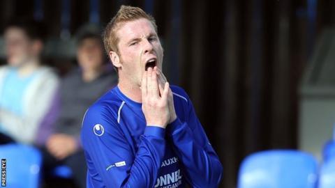 Darren Boyce had spent this season on loan with Dungannon Swifts
