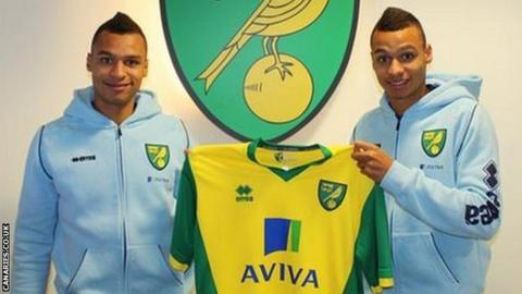 Josh and Jacob Murphy Norwich City